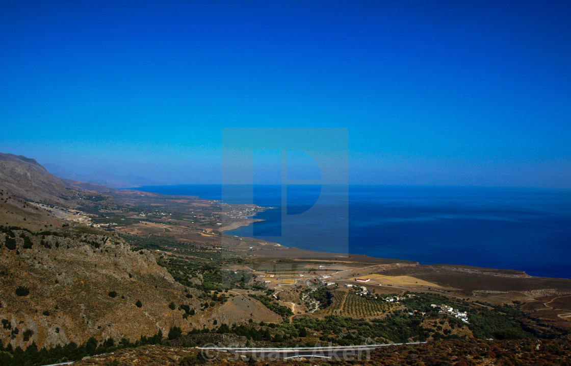 """Cretan Coast"" stock image"