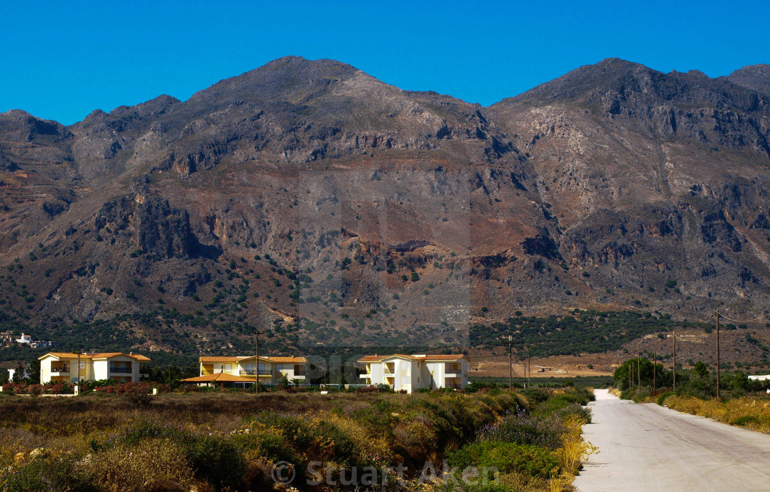 """Mountains of Crete"" stock image"