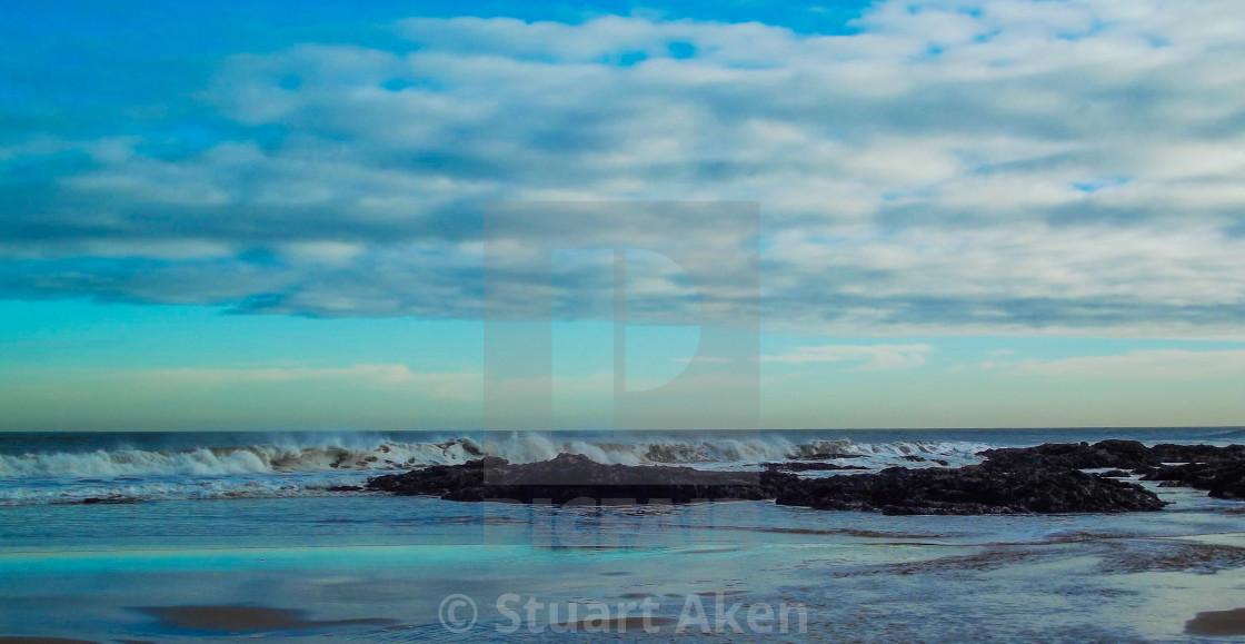 """Windblown Surf"" stock image"