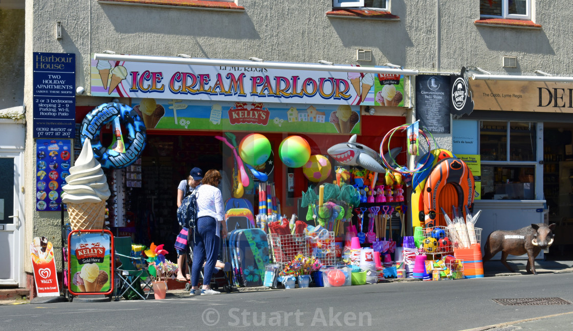 """Seaside Shop"" stock image"
