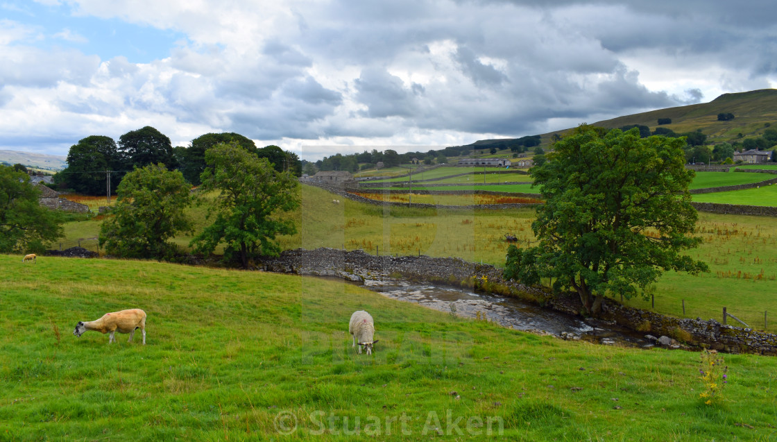 """Above Hawes"" stock image"