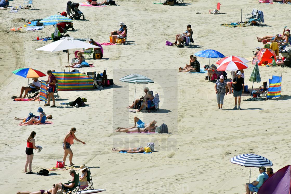 """Sunny Beach"" stock image"