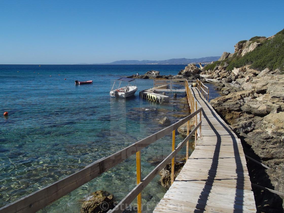 """""""Coastal Walkway"""" stock image"""