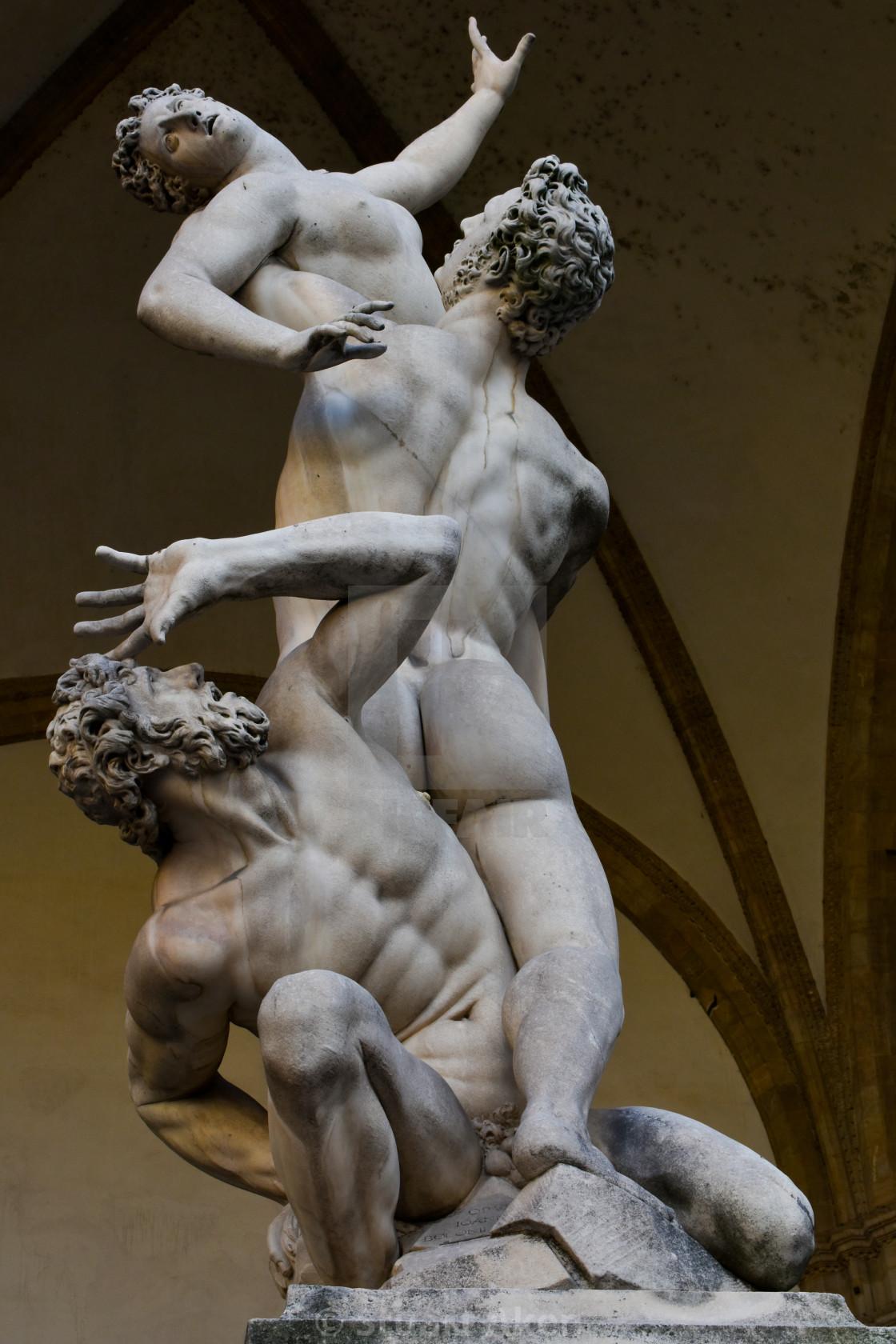 """""""Florentine Sculpture"""" stock image"""