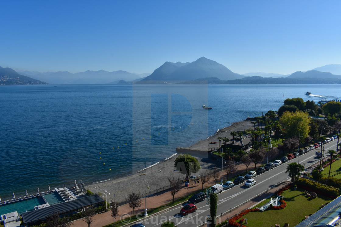 """Stresa on Lake Maggiore"" stock image"