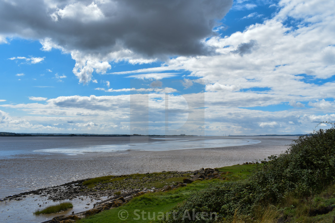 """On the Severn Shore"" stock image"