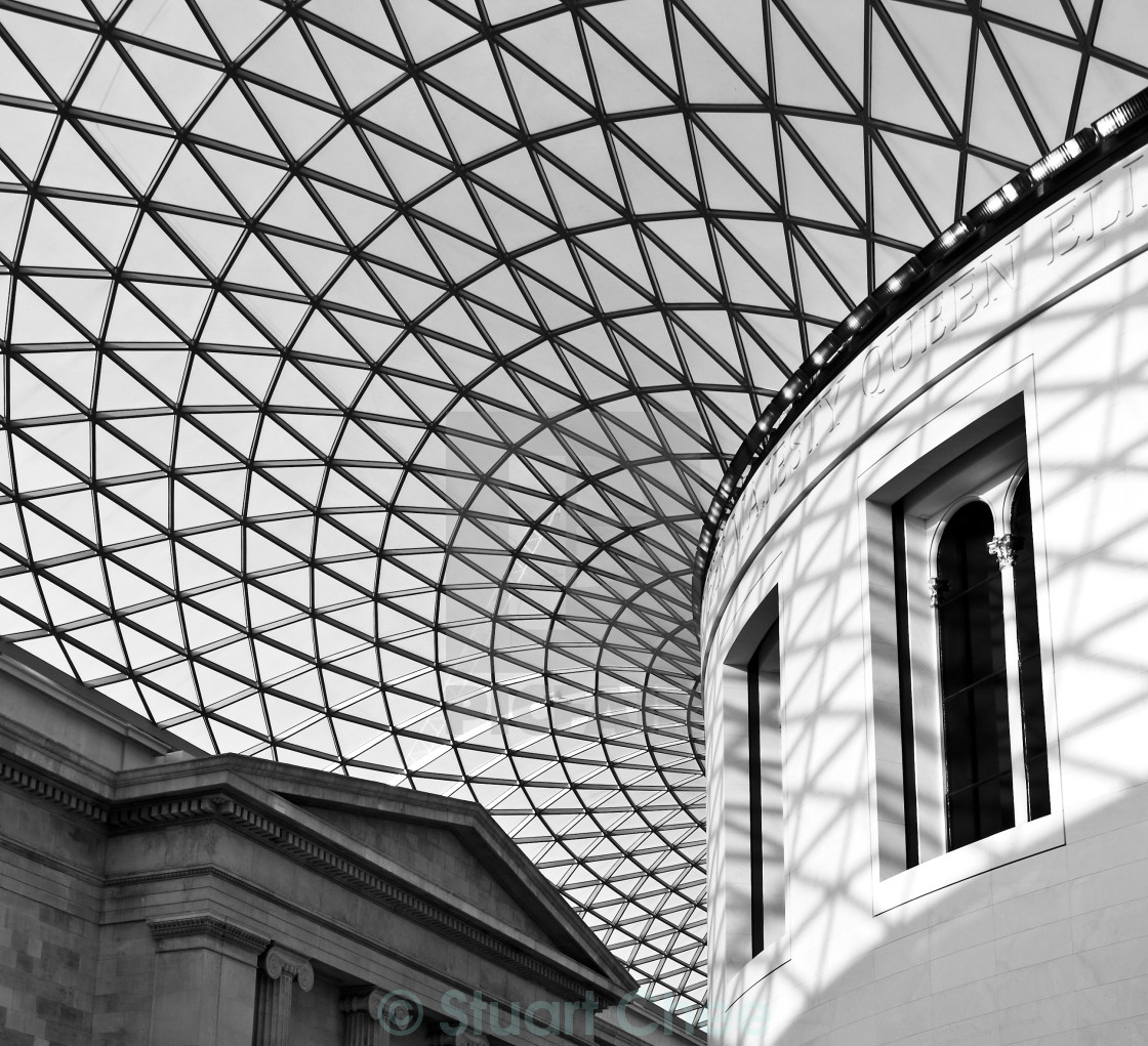 """The British Museum"" stock image"