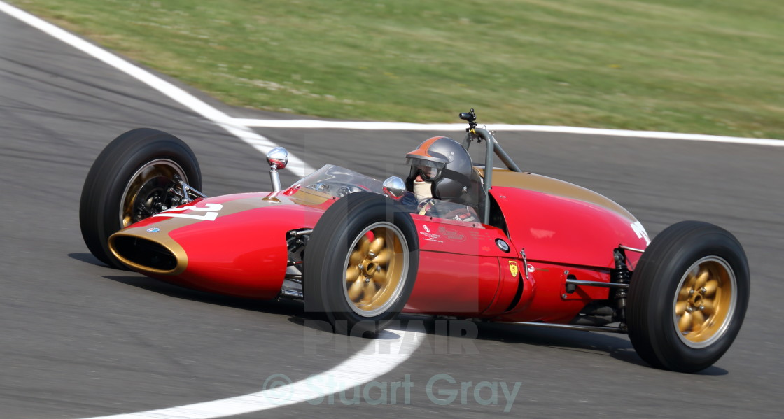 Eddy Perk, Heron F1-Alfa Romeo 1960s F1 Grand Prix Car - License for ...