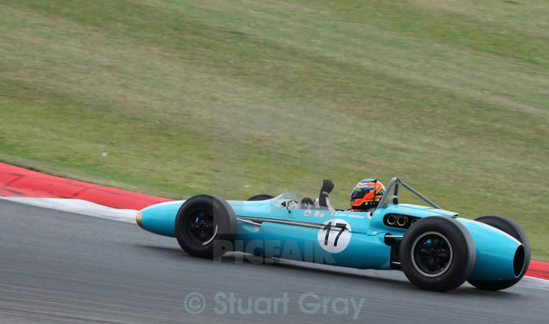 Jason Minshaw, Brabham BT4 (1962) 1960s F1 Grand Prix Car - License ...