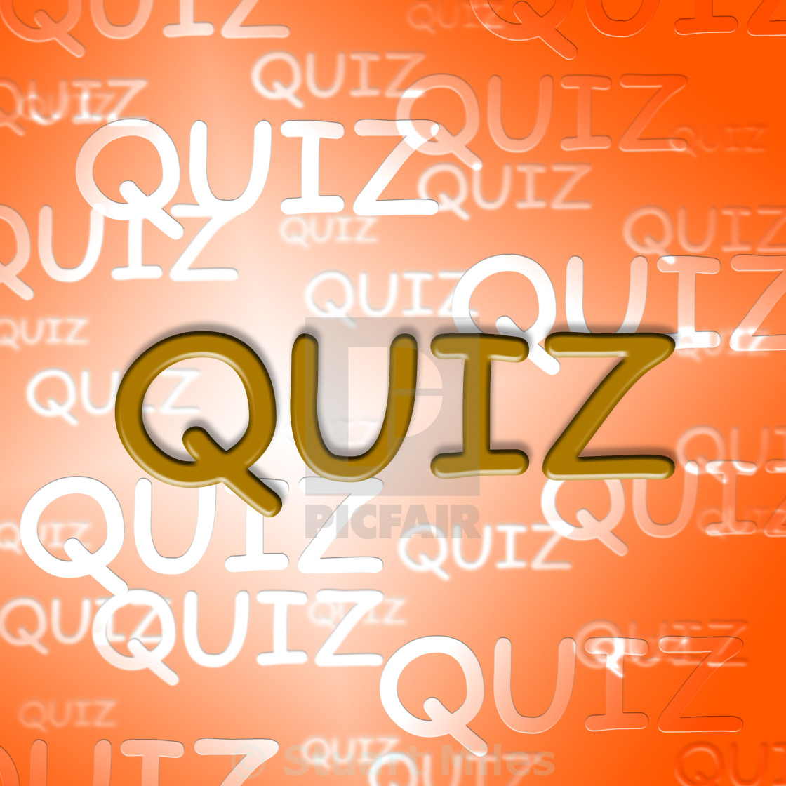 Quiz Words Represents Questions And Answers Puzzle - License