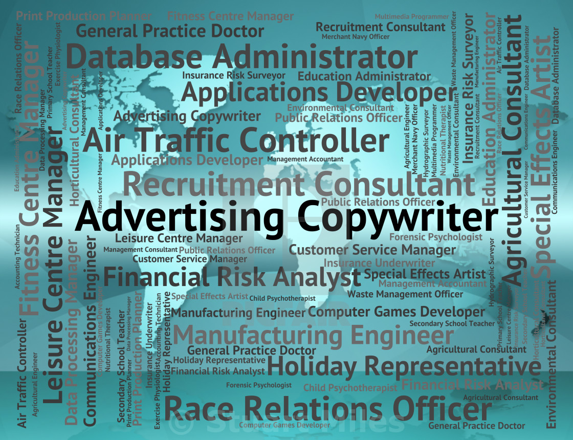 Advertising Copywriter Means Hire Advertisements And Job
