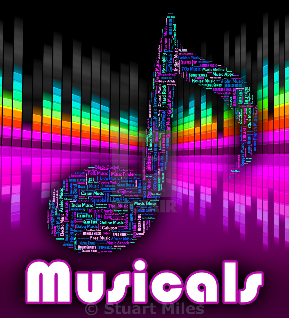 Musicals Music Shows Sound Track And Audio - License