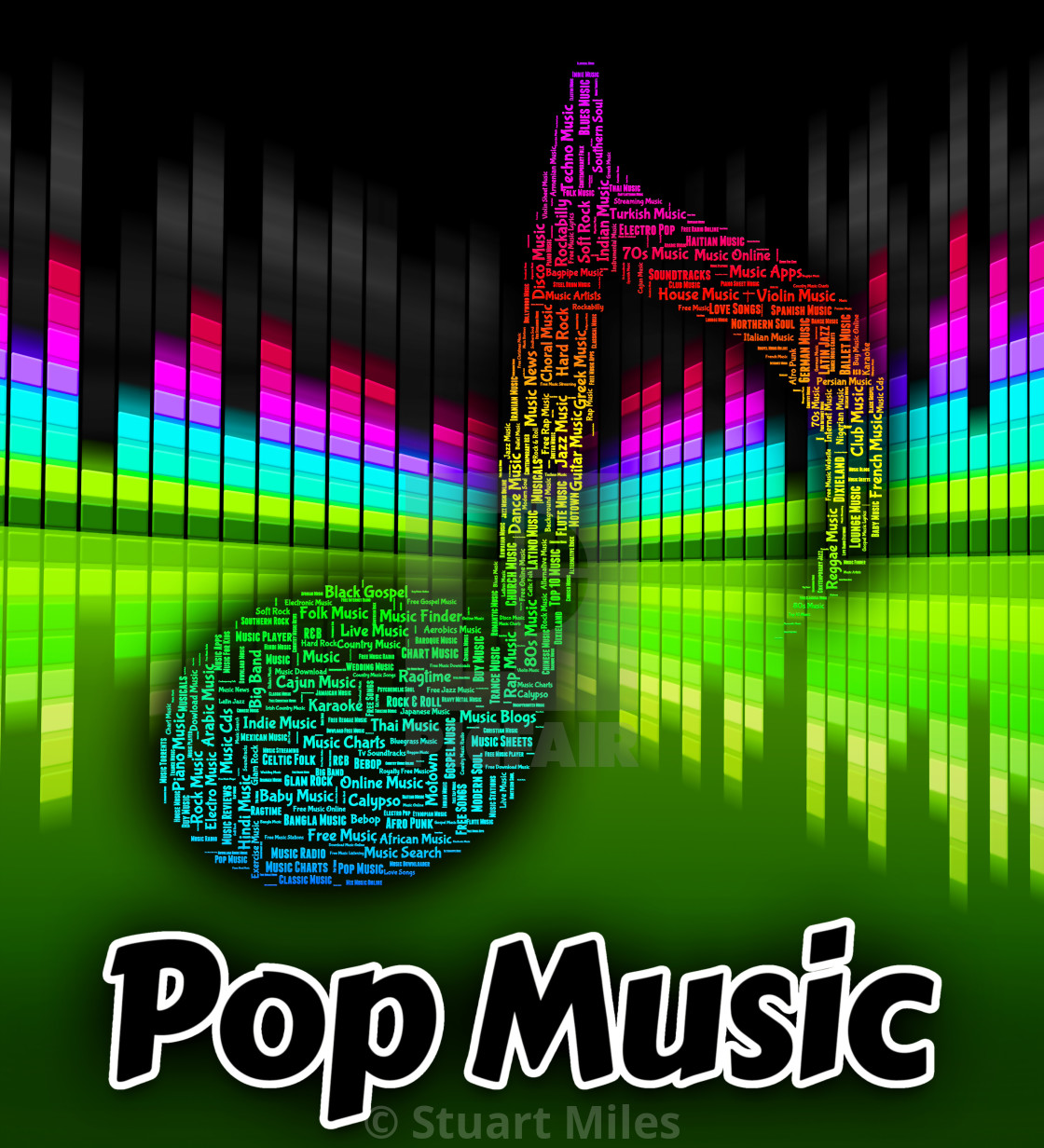 Pop Music Means Sound Track And Melodies - License, download or