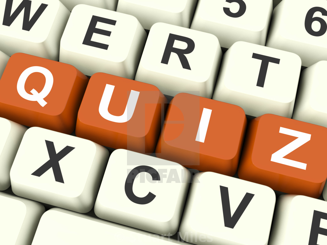 Quiz Keys Show Test Or Questions And Answers  - License, download or