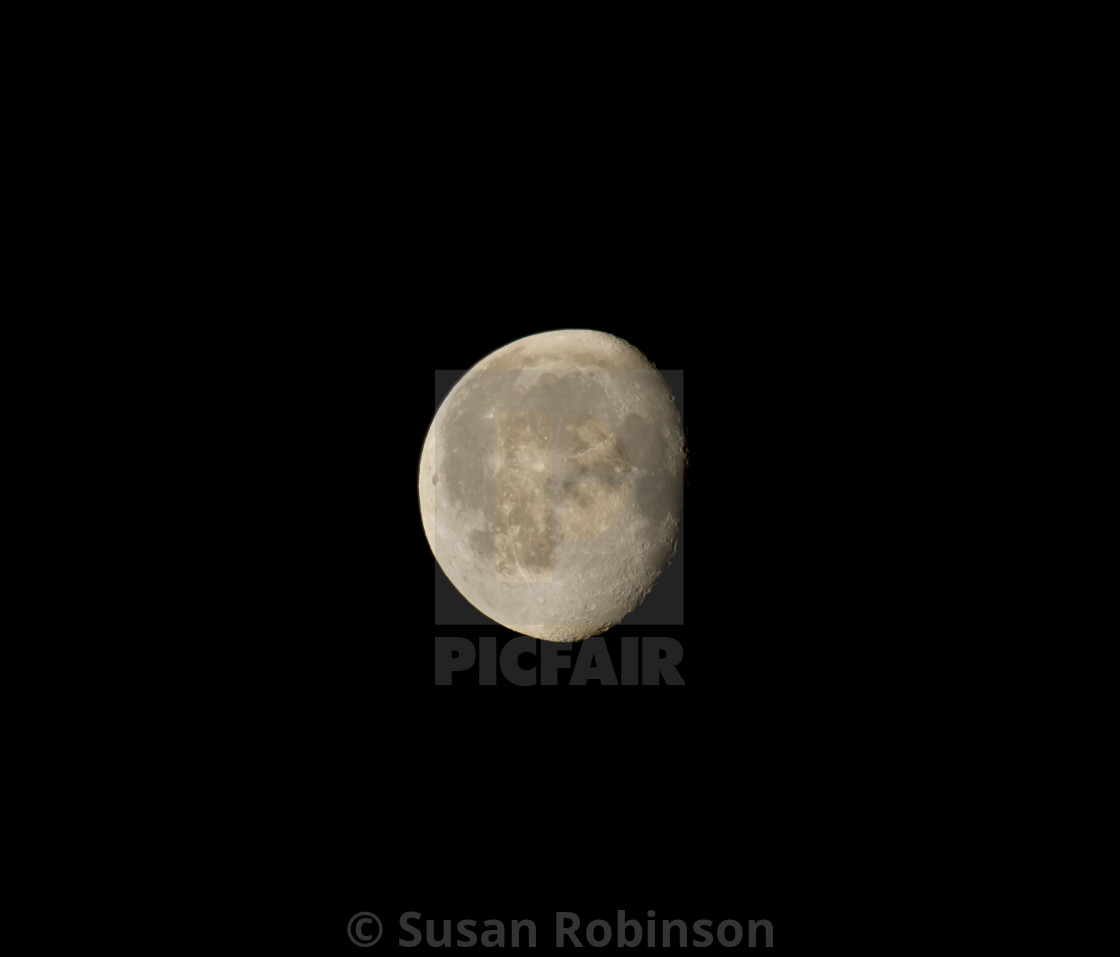Waning Gibbous Moon License Download Or Print For 300 Photos