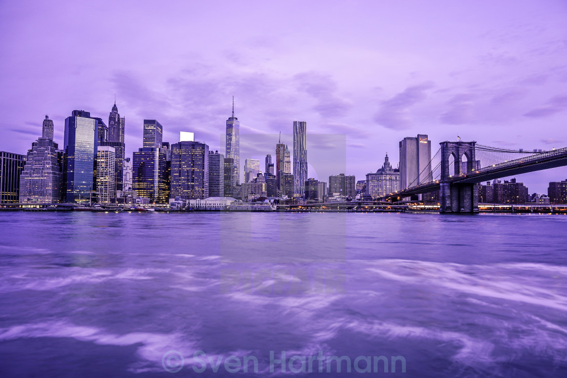 """Manhattan Skyline New York City"" stock image"