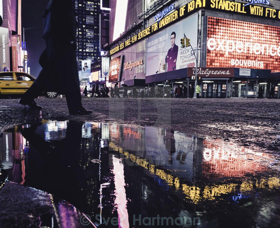 """Slushy Streets"" stock image"