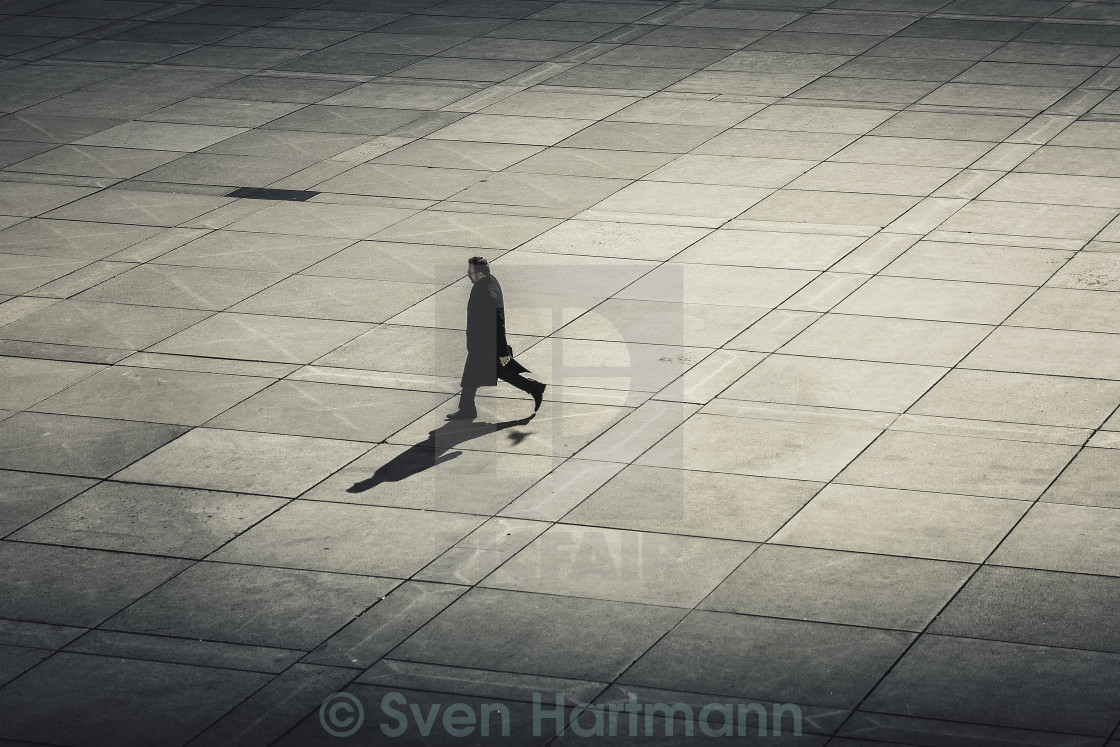 """walking man"" stock image"