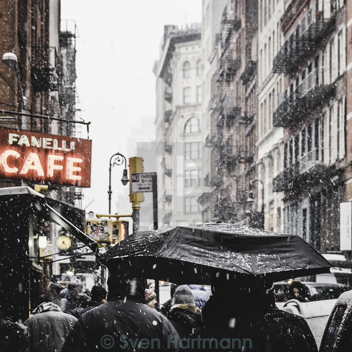 """nyc winter"" stock image"