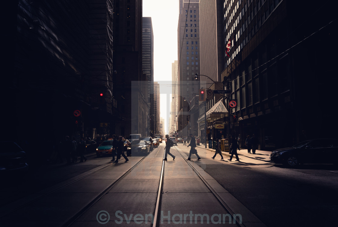 """Streets of Toronto"" stock image"