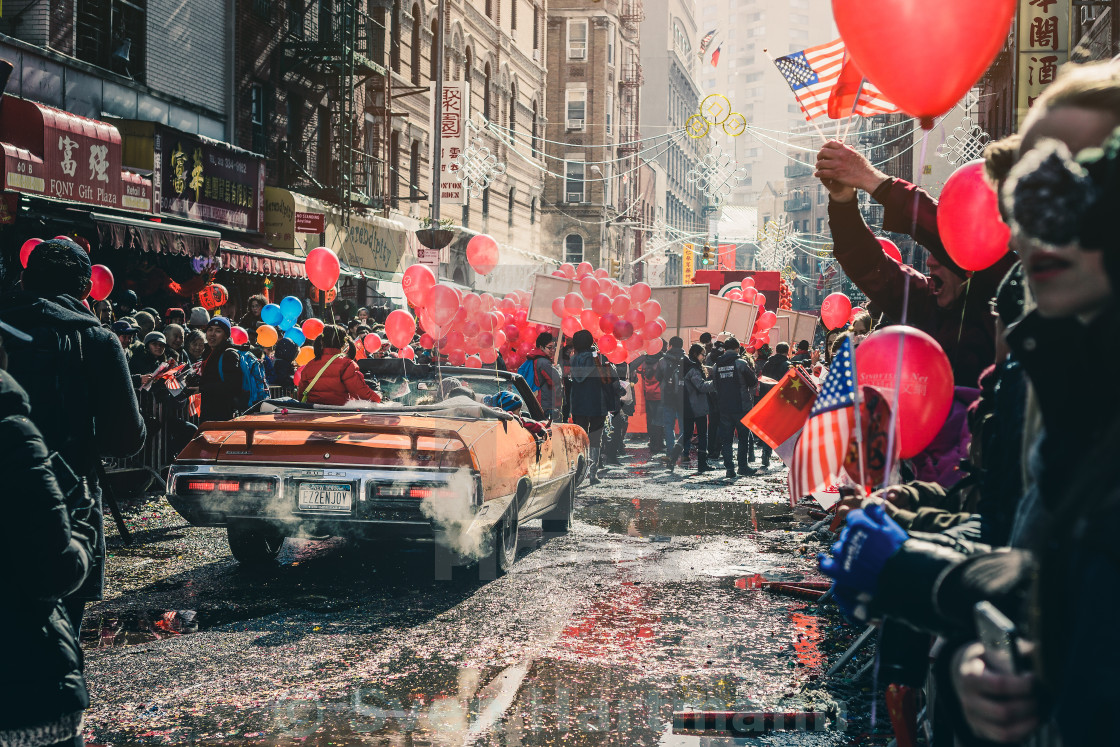 """Chinese New Year Parade"" stock image"