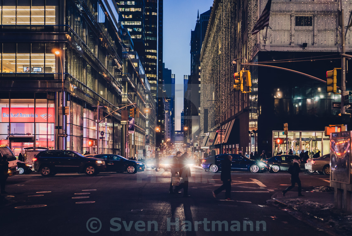 """nyc street"" stock image"