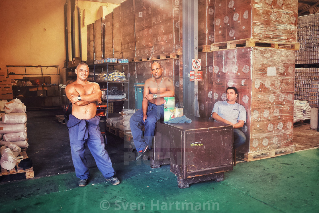 """men at work"" stock image"