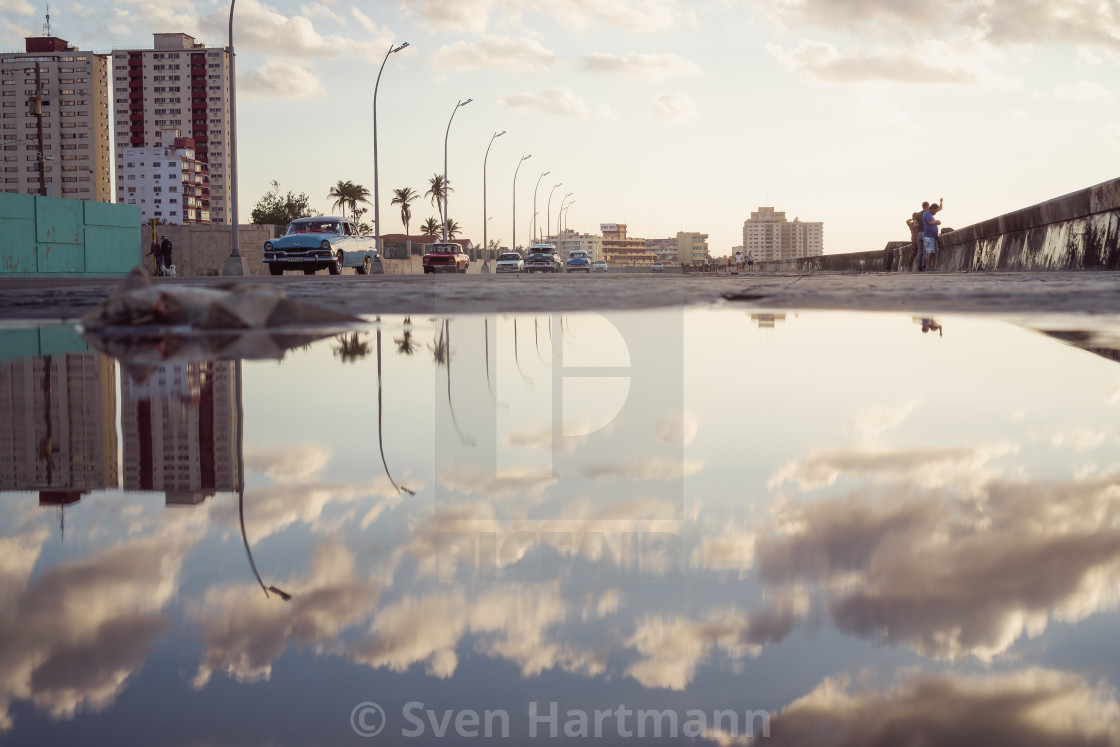 """Malecon"" stock image"