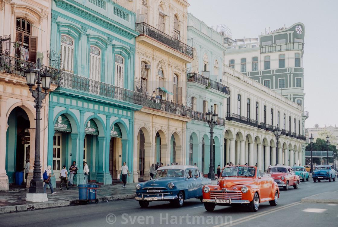 """Havanna street scene"" stock image"