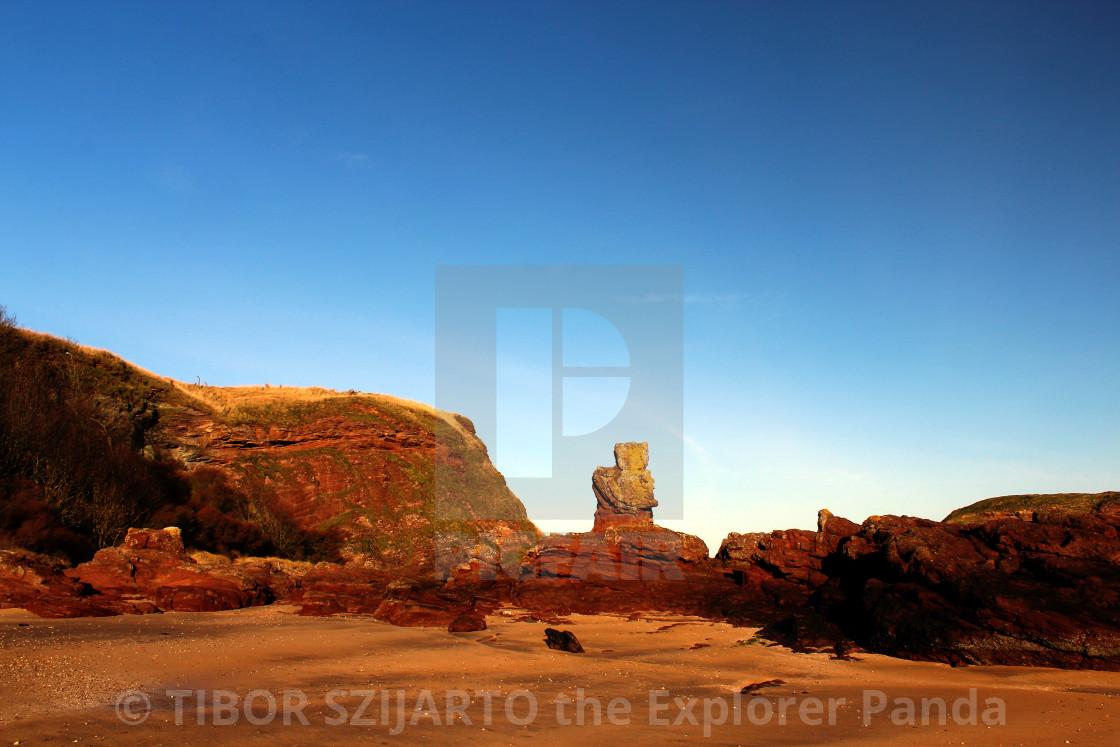 """North Berwick coast"" stock image"