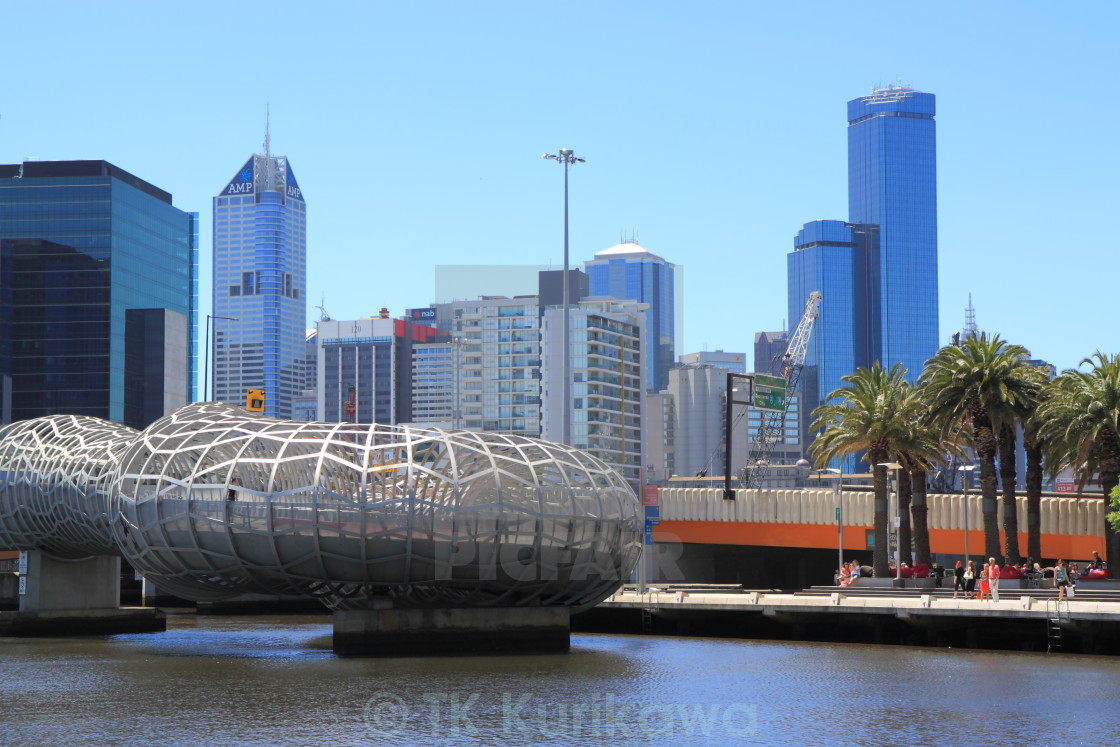 """Docklands Harbour Melbourne"" stock image"