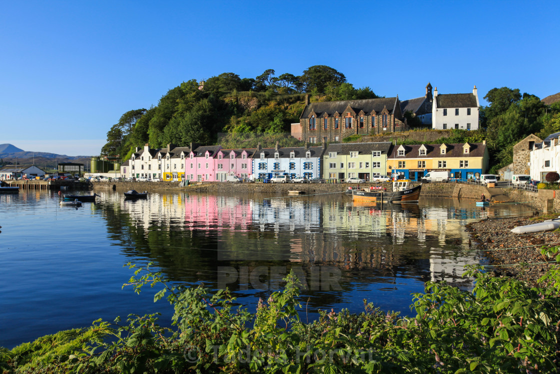 """Portree"" stock image"
