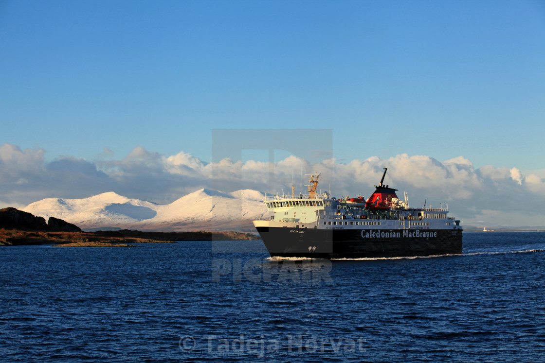 """CalMac Ferry"" stock image"