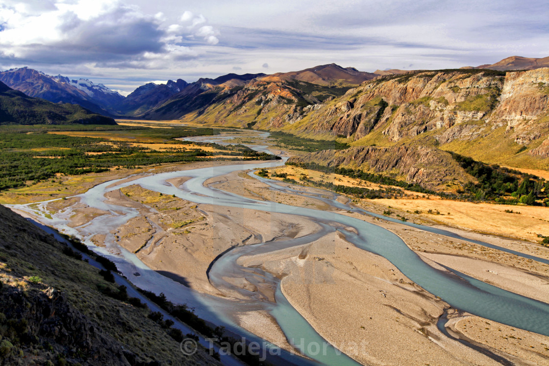 """Los Glaciares National Park"" stock image"