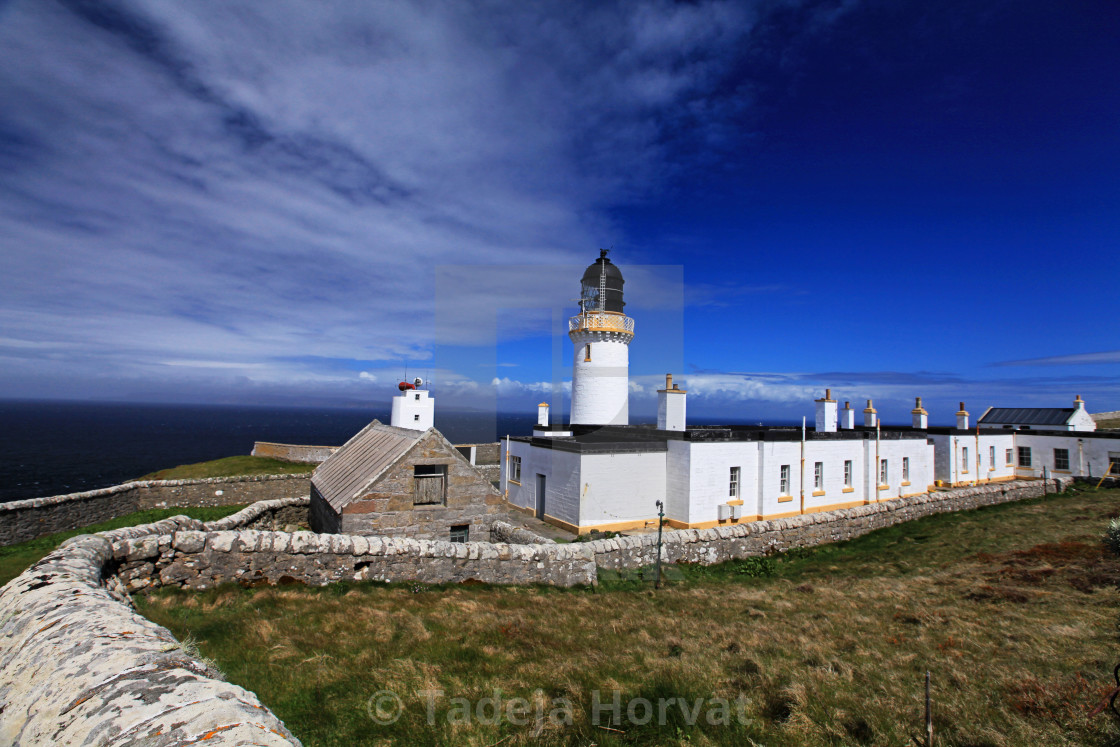 """Dunnet Head Lighthouse"" stock image"