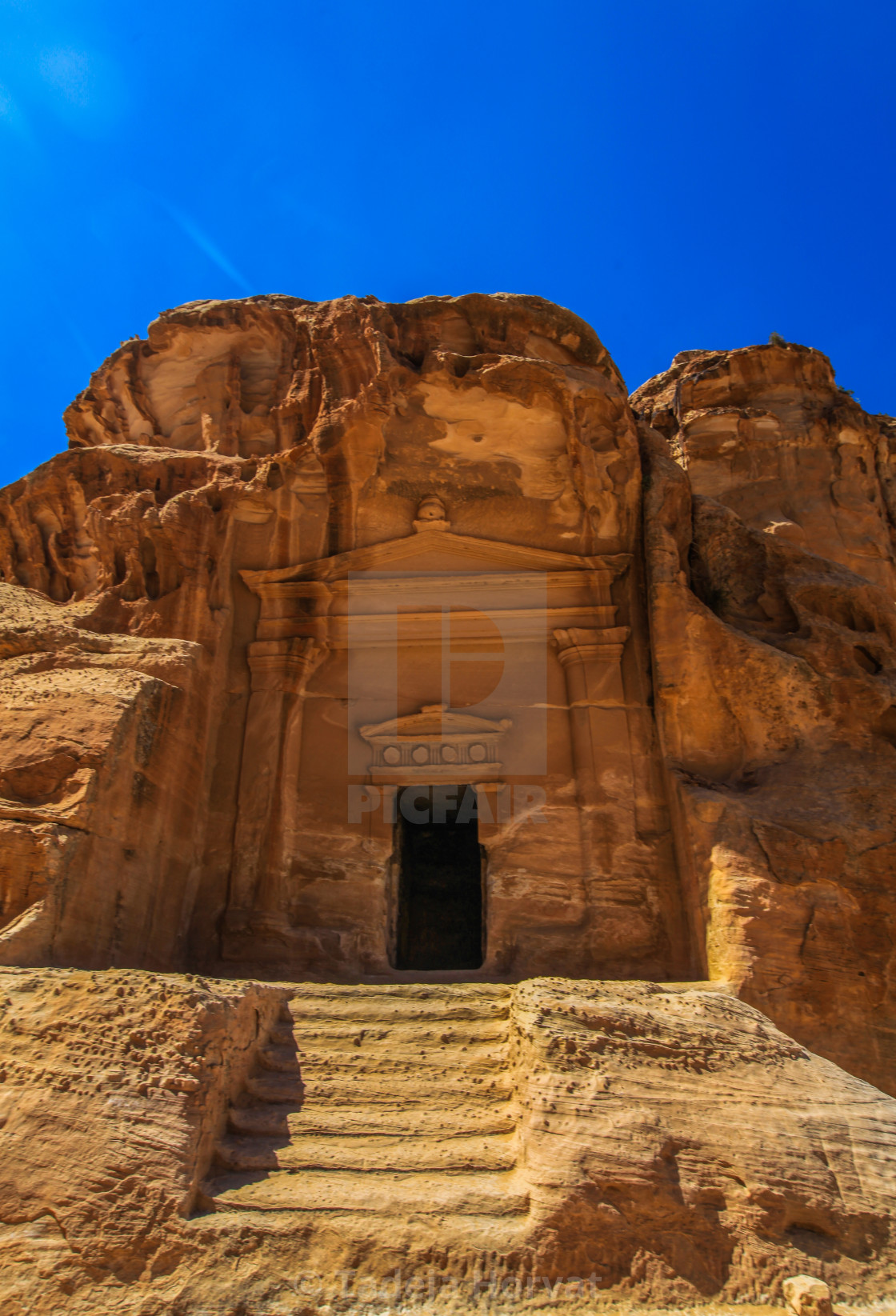 """Al Beida (Little Petra)"" stock image"
