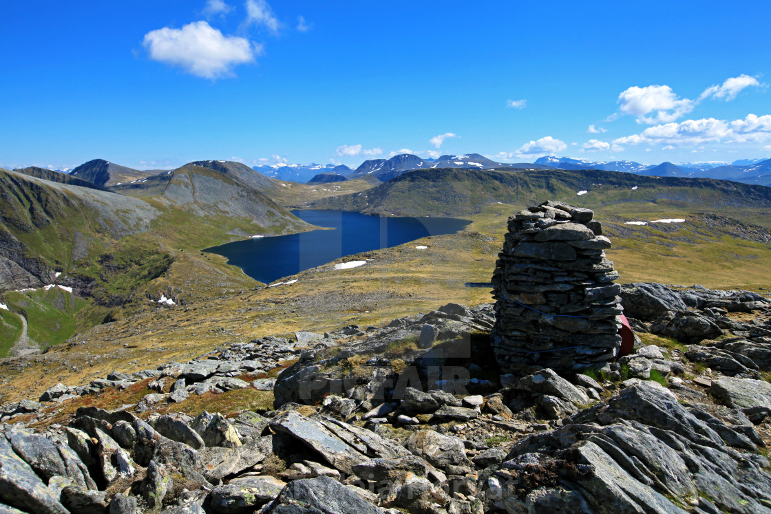 """Lake Myrkevatnet"" stock image"