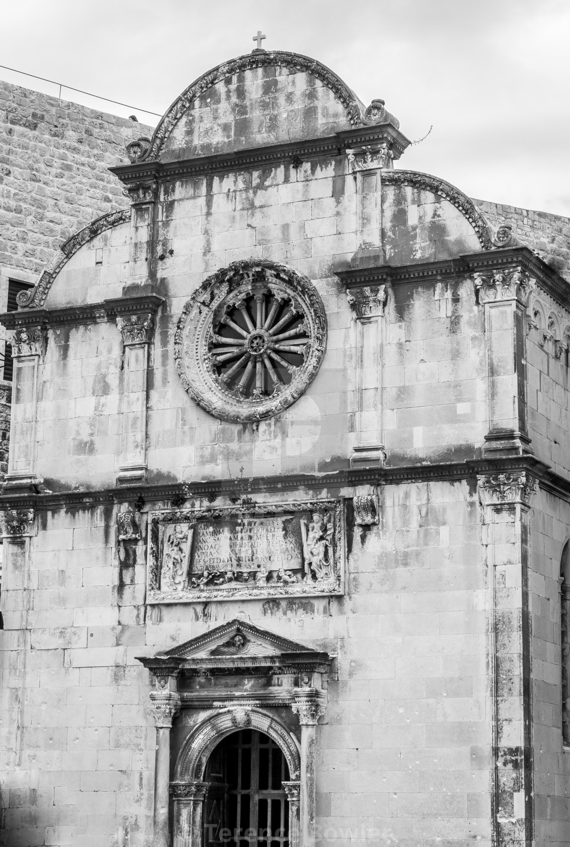 """""""Dubrovnik Old Town Monastery"""" stock image"""
