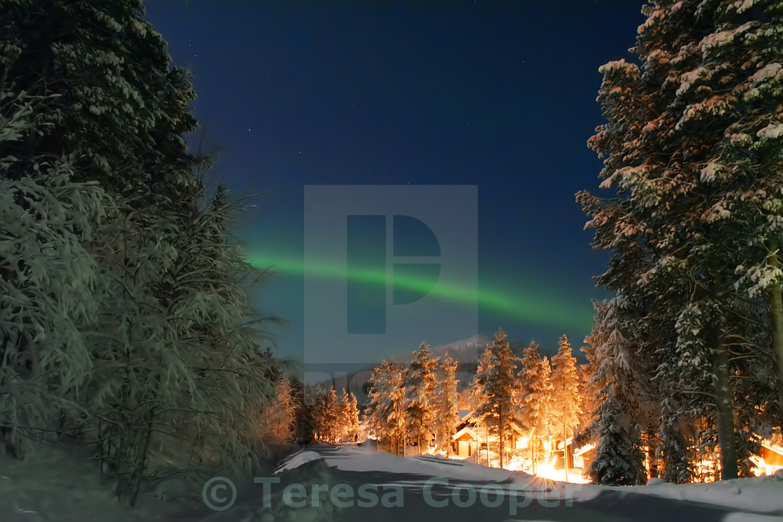 """Aurora Borealis - Northern Lights"" stock image"
