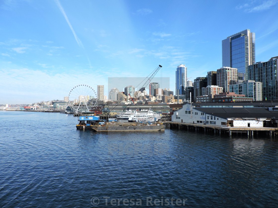"""""""Seattle Vibes!!!"""" stock image"""
