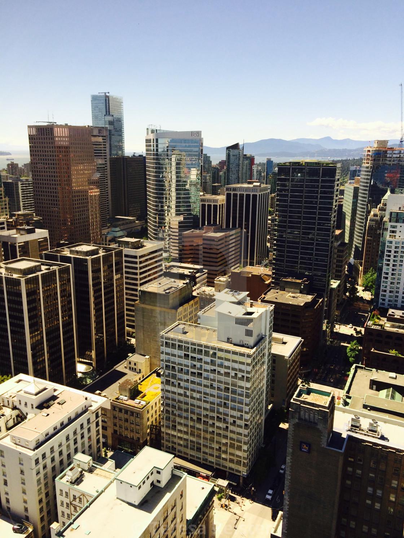 """Vancouver views!!!"" stock image"