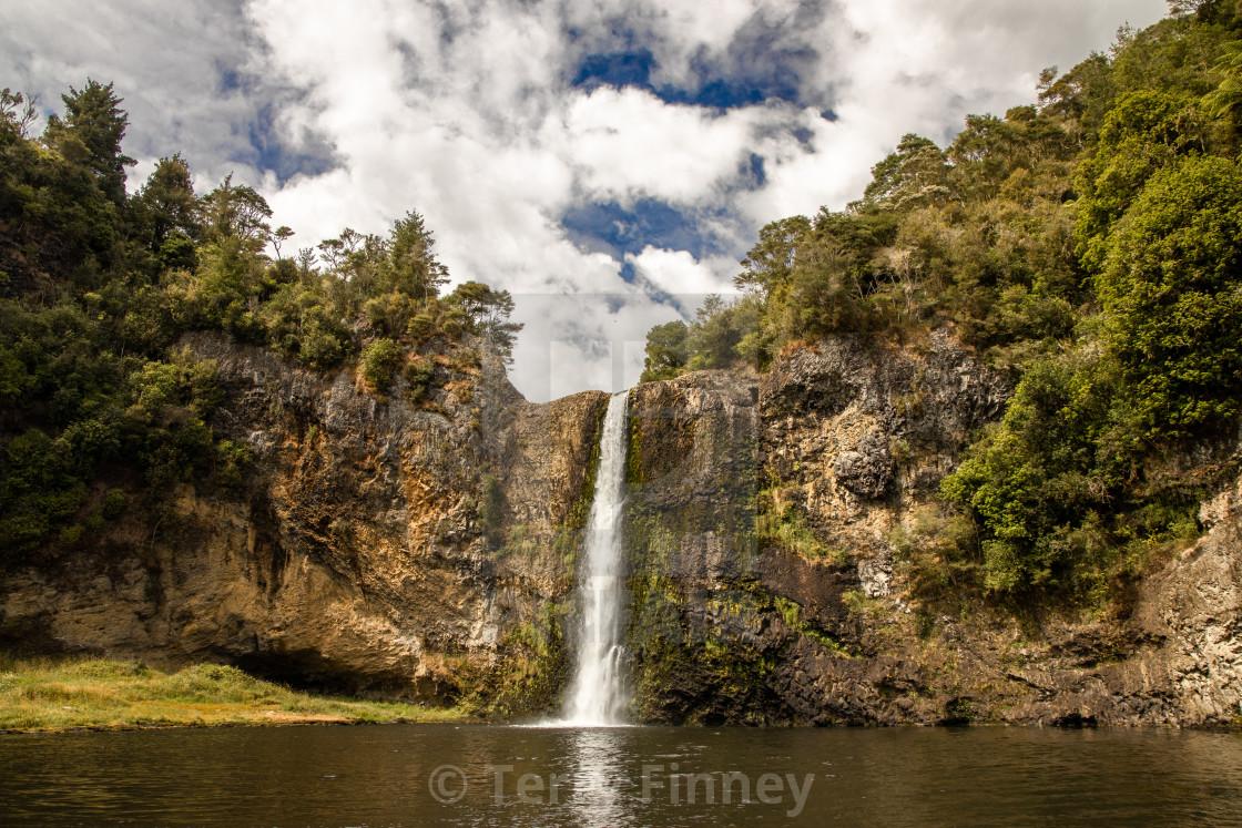 """Hunua Falls"" stock image"