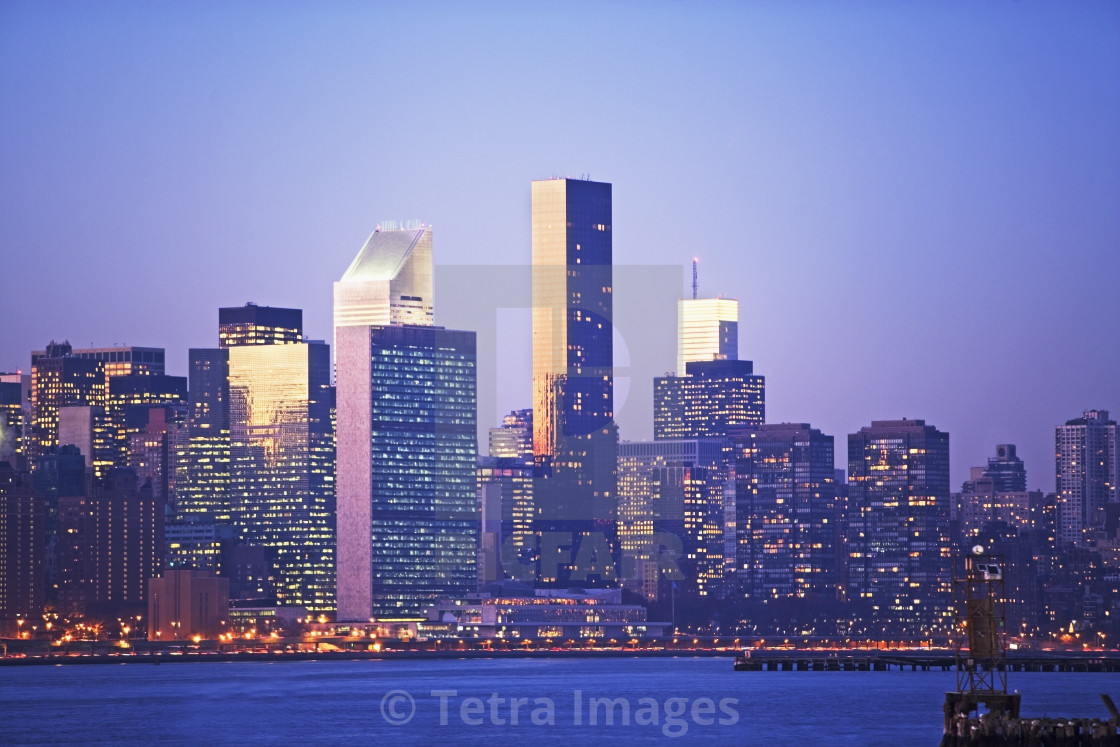 """New York City, buildings"" stock image"