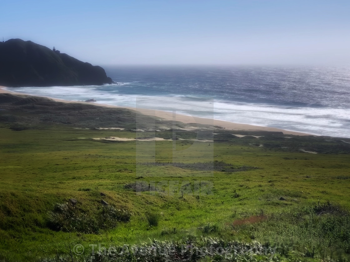 """Big Sur beach"" stock image"