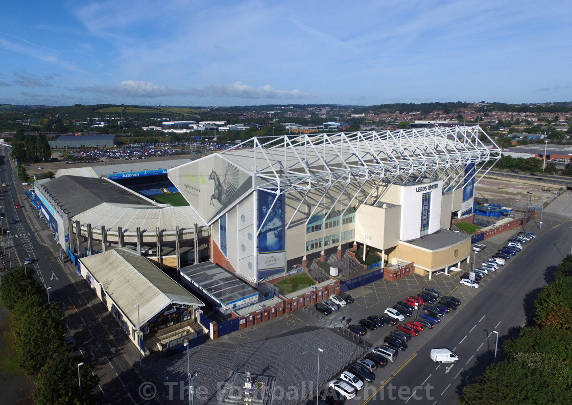 Leeds United Fc Elland Road Stadium Aerial Photograph License Download Or Print For 24 80 Photos Picfair