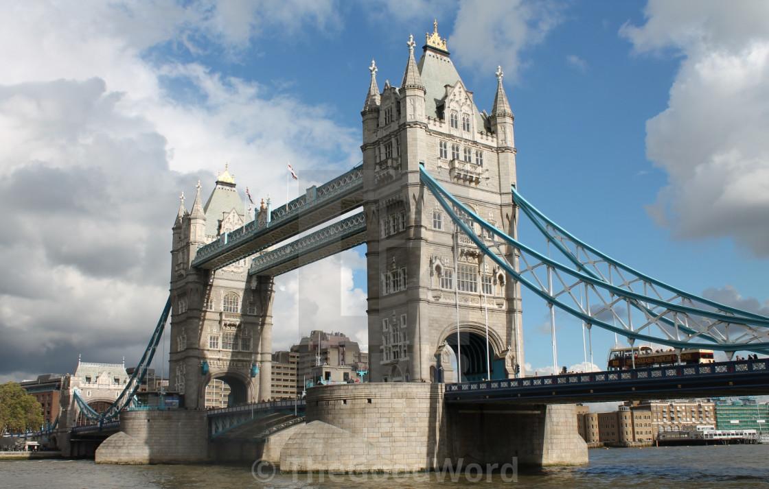 """London's Tower Bridge"" stock image"