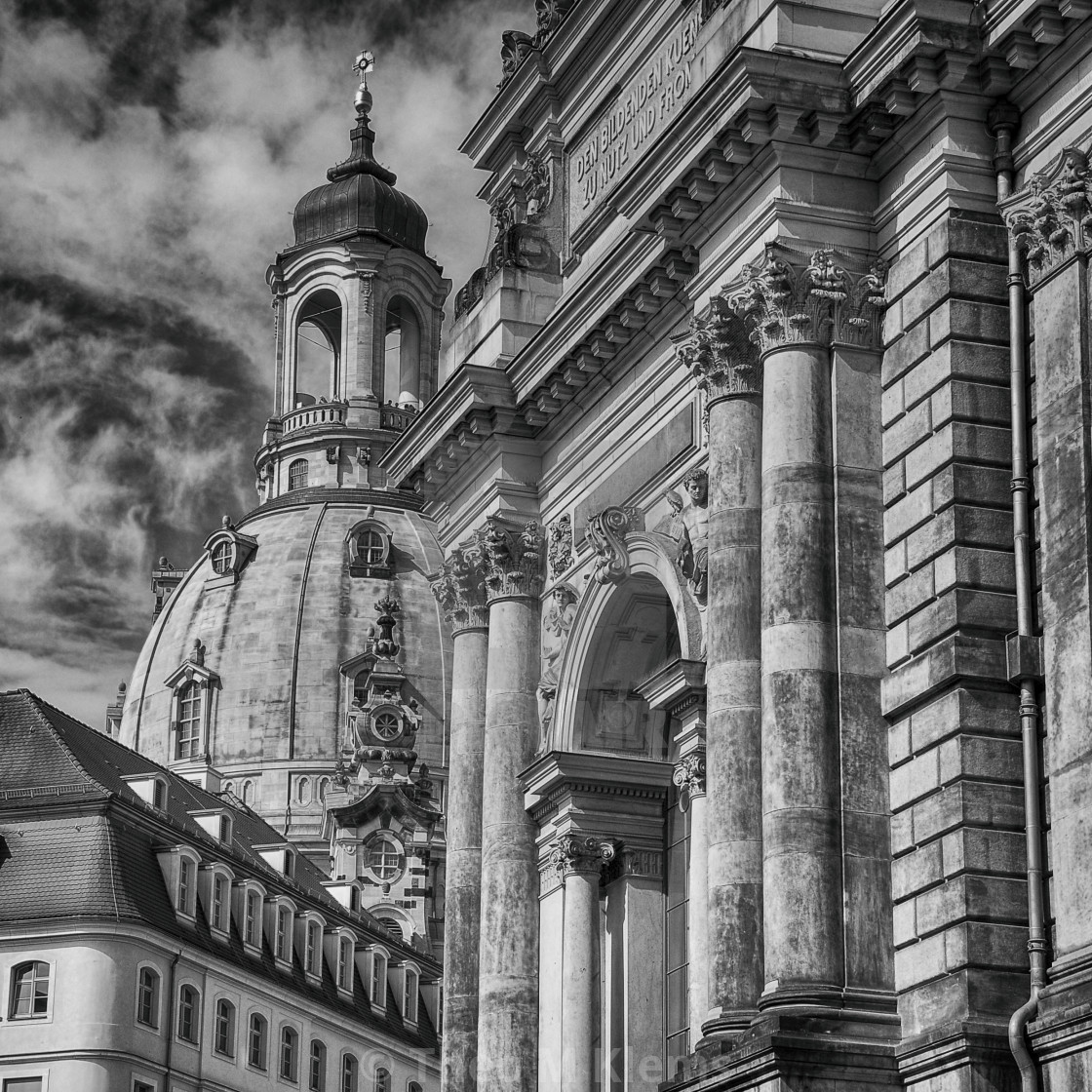"""black and white. saxony"" stock image"