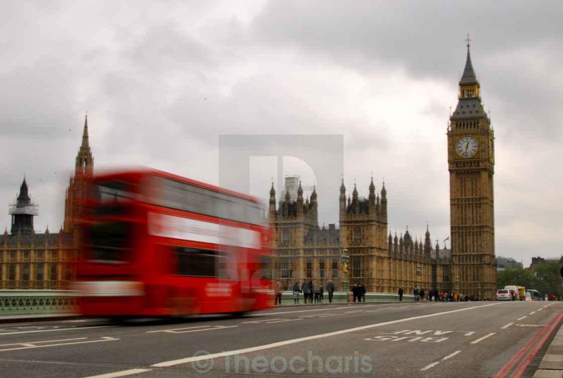 """Westminster Palace"" stock image"