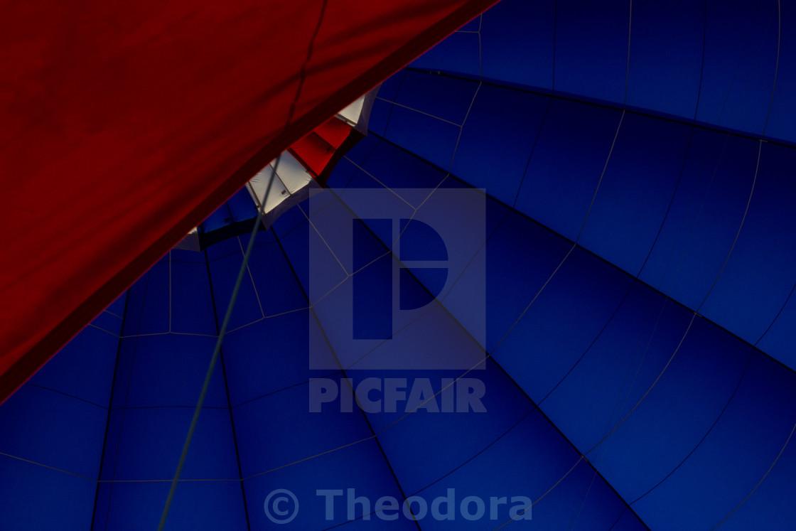 """Inside the Balloon"" stock image"