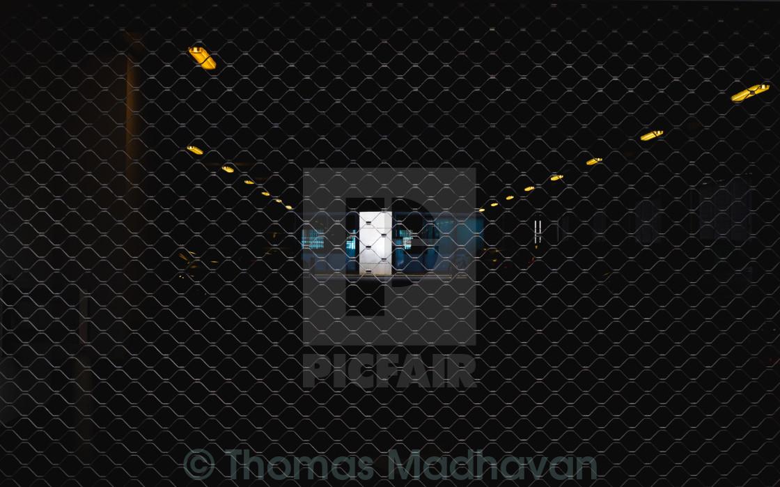 """""""Door in the Dark"""" stock image"""
